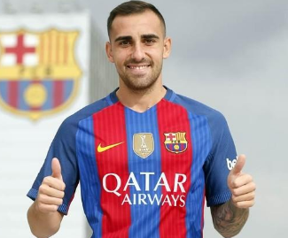 La Liga champions Barcelona has confirmed that Paco Alcacer has signed a five-year deal with the club, joining for a €30m fee from Valencia.