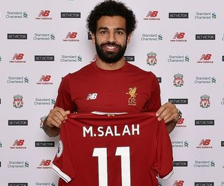 Liverpool have completed the signing of Mohamed Salah from Roma on a long-term deal.