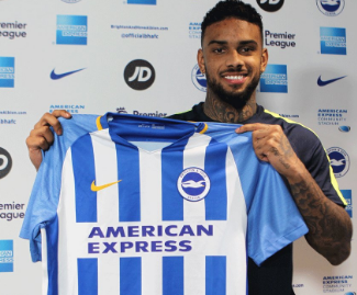 Brighton & Hove Albion have completed the club-record signing of striker Jurgen Locadia from PSV Eindhoven.