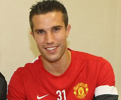 Robin van Persie completes £24m move from Arsenal to Manchester United.