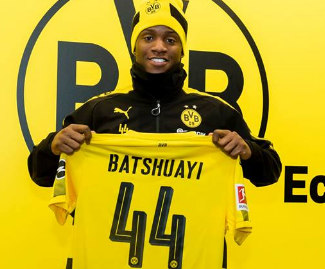 Borussia Dortmund have confirmed the loan signing of Chelsea striker Michy Batshuayi until the end of the season.