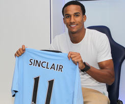 Scott Sinclair joins the Blues from Swansea.
