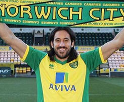 Norwich City have completed the loan signing of Newcastle United midfielder Jonas Gutierrez.