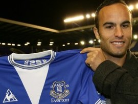 Everton confirm loan signing of American Landon Donovan