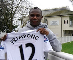 Fulham have confirmed the signing of Arsenal midfielder Emmanuel Frimpong, on loan for the rest of the season.