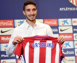 Atletico Madrid sign Croatia defender Sime Vrsaljko from Sassuolo.