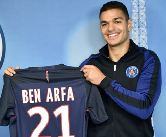 PSG have signed Hatem Ben Arfa on a free transfer after his contract ran out at Nice.