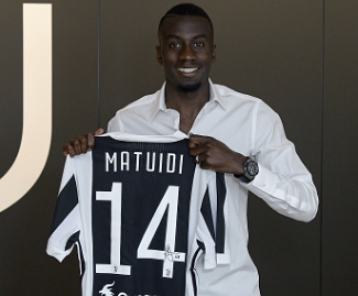 Blaise Matuidi has joined Juventus in an initial €20 million deal after a six-year spell with Paris Saint-Germain.