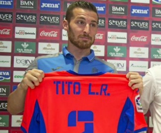 Granada have signed Tito on a free transfer from Rayo Vallecano