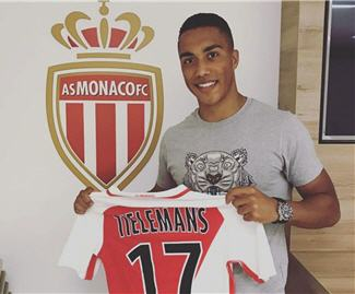 Monaco have confirmed the signing of Belgian young player of the year Youri Tielemans on a five-year contract from Anderlecht.