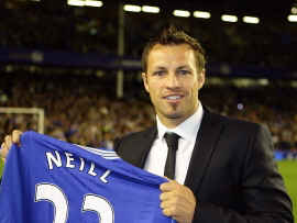 Lucas Neill admits move from Everton to Galatasaray was 'a shock'