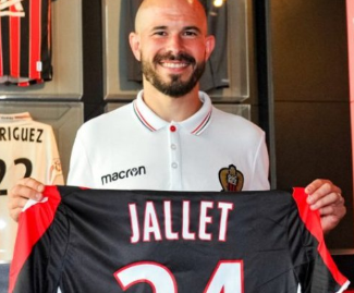 Lyon full-back Christophe Jallet has terminated his deal with the club, and signs a three-year deal with OGC Nice.