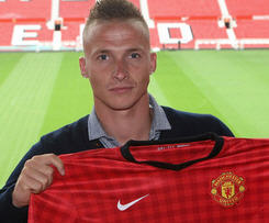Manchester United have completed the signing of Alexander Buttner from Vitesse Arnhem.