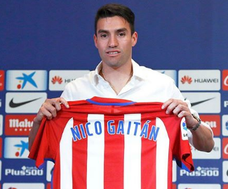 Atletico Madrid have reached an agreement with Benfica for the transfer of Nicolas Gaitan.