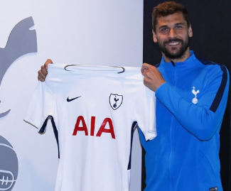 Tottenham Hotspur have completed the signing of Swansea City striker Fernando Llorente for a fee reportedly in the region of £15 million.