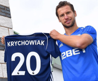 West Brom have confirmed the signing of Grzegorz Krychowiak from Paris Saint-Germain on a season-long loan deal.