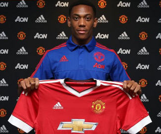 Anthony ‪‎Martial‬ has completed his transfer from AS Monaco to Manchester United for a reported fee of £36 million.