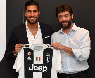 Emre Can completes Juventus move after opting against Liverpool extension.