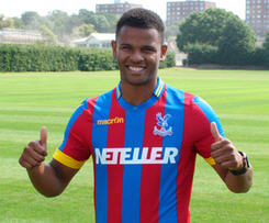 Crystal Palace have announced the signing of the striker Fraizer Campbell from Cardiff City on a three-year contract.