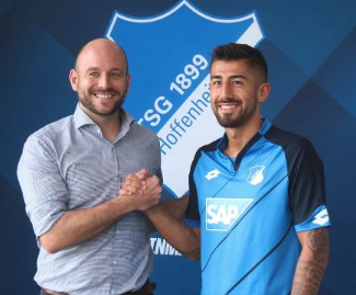 Kerem Demirbay signs for Hoffenheim.
