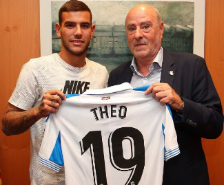 Real Madrid confirmed that they've sent Theo Hernandez to Real Sociedad on a loan deal which will expire in June 2019.