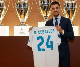 Real Madrid have completed the signing of Dani Ceballos from Real Betis for a reported €18 million.