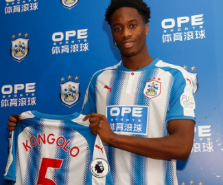 Huddersfield have signed Monaco and Netherlands defender Terence Kongolo on loan for the rest of the season.