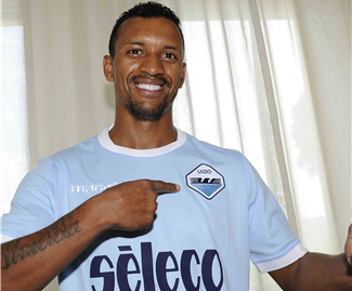 Lazio have signed former Manchester United winger Nani from Valencia on a season-long loan.