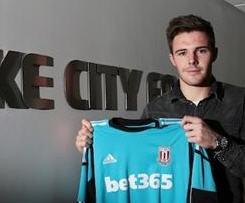 Stoke sign goalkeeper Jack Butland from Birmingham City for £4m.