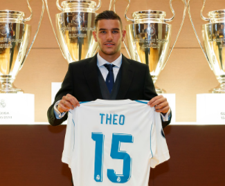 Real Madrid have officially announced the signing of defender Theo Hernandez from inner-city rivals Atletico Madrid.