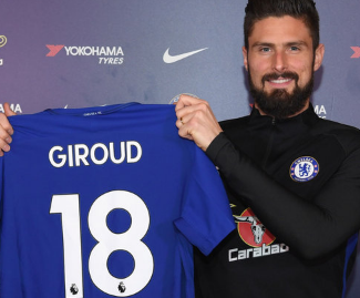 Chelsea have completed the signing of Olivier Giroud from Arsenal.