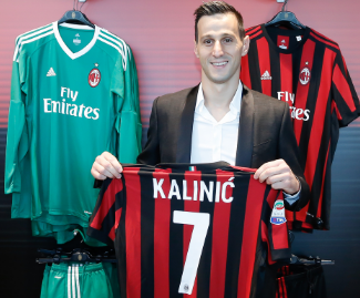 AC Milan have confirmed the signing of Nikola Kalinic from Serie A rivals Fiorentina on an initial season-long loan deal followed by an obligation to make the move permanent next summer.