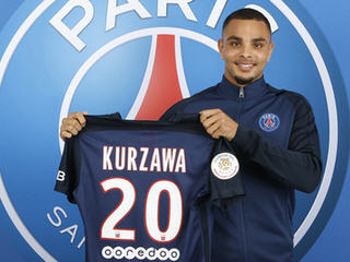 Paris Saint-Germain have confirmed the signing of Monaco left-back Layvin Kurzawa on a five-year deal.
