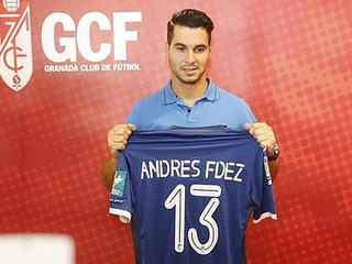 Granada have completed the signing of Andres Fernandez from FC Porto on loan.