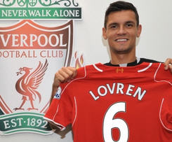 Dejan Lovren signs for Liverpool for £20m, becoming third Southampton player to move to Anfield this summer after Adam Lallana and Rickie Lambert.
