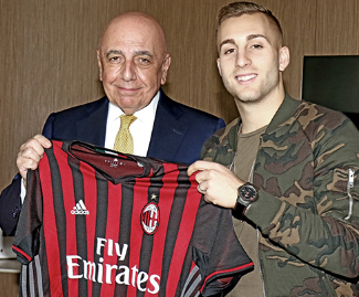 AC Milan announces to have signed Gerard Deulofeu on a loan deal from Everton, until 30th June 2017.