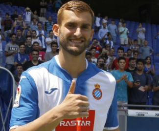 Espanyol have announced the signing of Leo Baptistao from Atletico Madrid on a five-year deal.