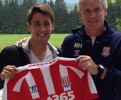 Bojan Krkic joins Stoke City from Barcelona on four-year deal.