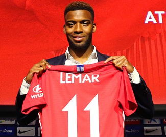 Atletico Madrid have reached an agreement with Monaco to sign winger Thomas Lemar.