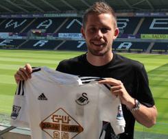 Swansea City can confirm the signing of Tottenham Hotspur midfielder Gylfi Sigurdsson.