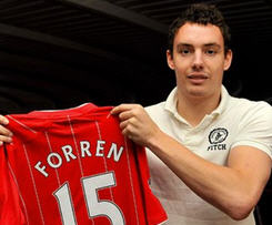 Southampton have confirmed the signing of Norwegian international defender Vegard Forren for an undisclosed fee.
