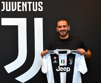Italy defender Leonardo Bonucci has rejoined Serie A champions Juventus from AC Milan.