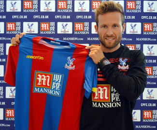 Crystal Palace confirmed the signing of Yohan Cabaye from Paris Saint Germain for a club record fee of £12.8 million.