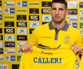 Flop West Ham loanee Jonathan Calleri joins Las Palmas on loan for the coming season from Deportivo Maldonando.