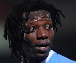 Blackburn have snapped up striker Benjani from Manchester City on a one-year deal.