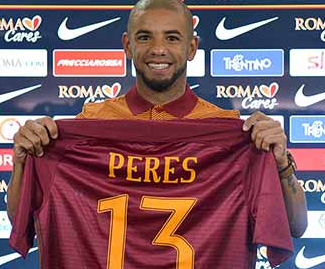 AS Roma completed the €13.5m transfer of Bruno Peres from Torino, both clubs confirmed on Tuesday.