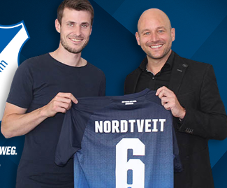 Havard Nordtveit has signed for Hoffenheim from West Ham after just one season at the Premier League club.
