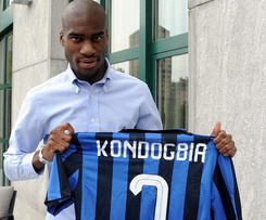 Inter have officially announced the signing of Geoffrey Kondogbia