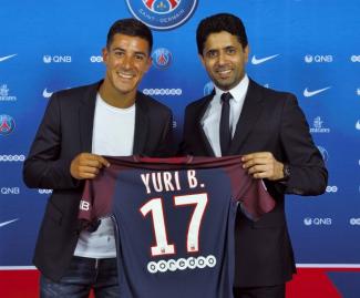 Paris Saint-Germain have announced the signing of Real Sociedad left-back Yuri Berchiche.