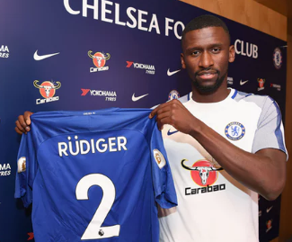 Chelsea complete £34m deal for Roma defender Antonio Rudiger.